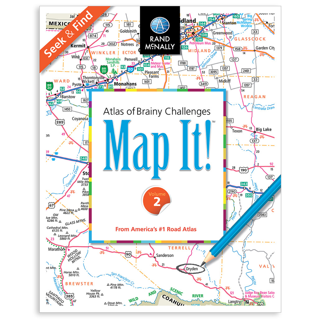 Map It! Seek & Find - Volume 2