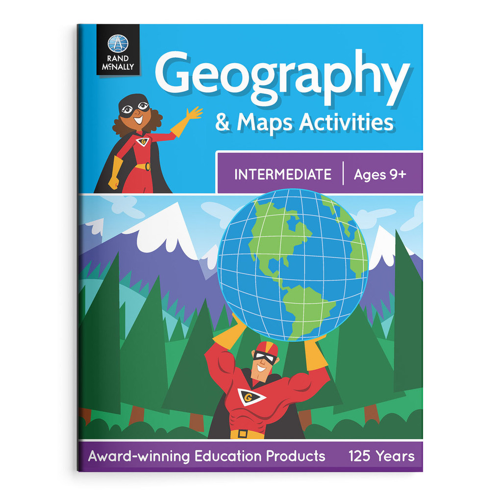 Geography & Maps Activities