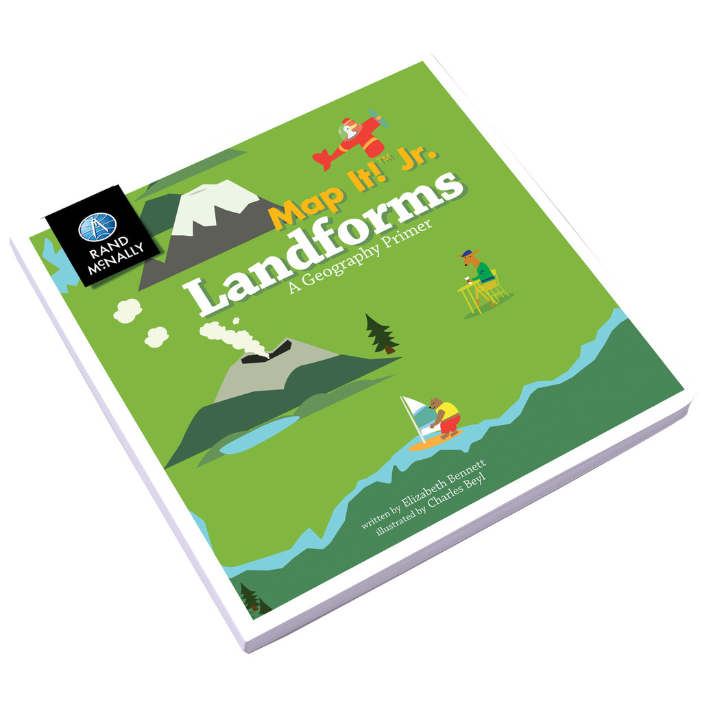 Map It! Jr., Landforms | A Geography Primer