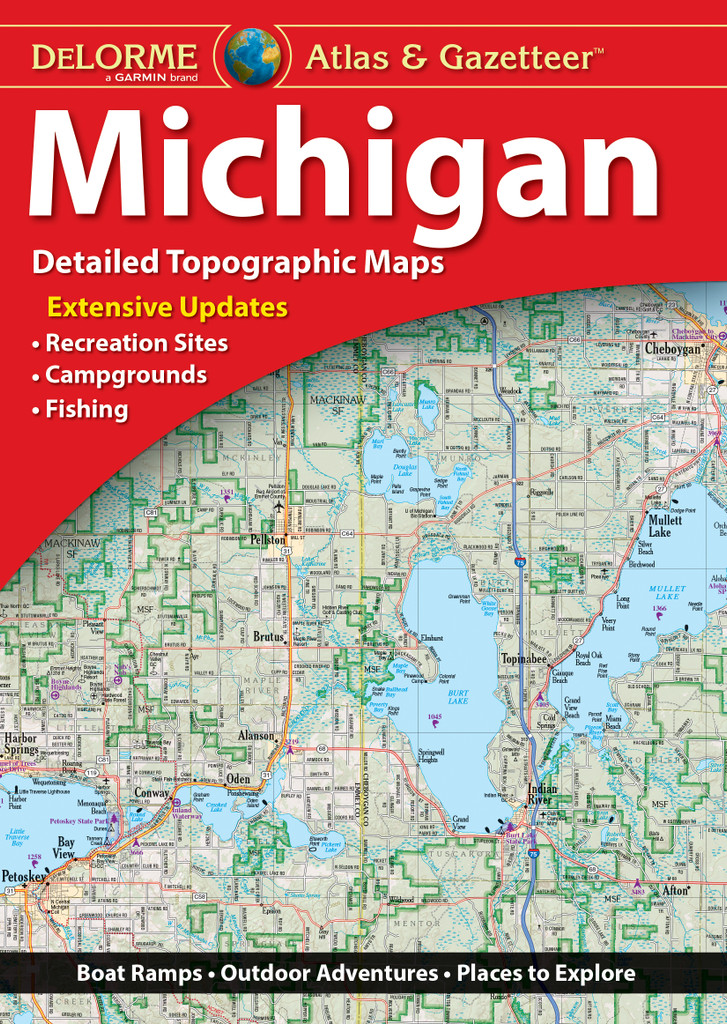 DeLorme Atlas & Gazetteer: Michigan