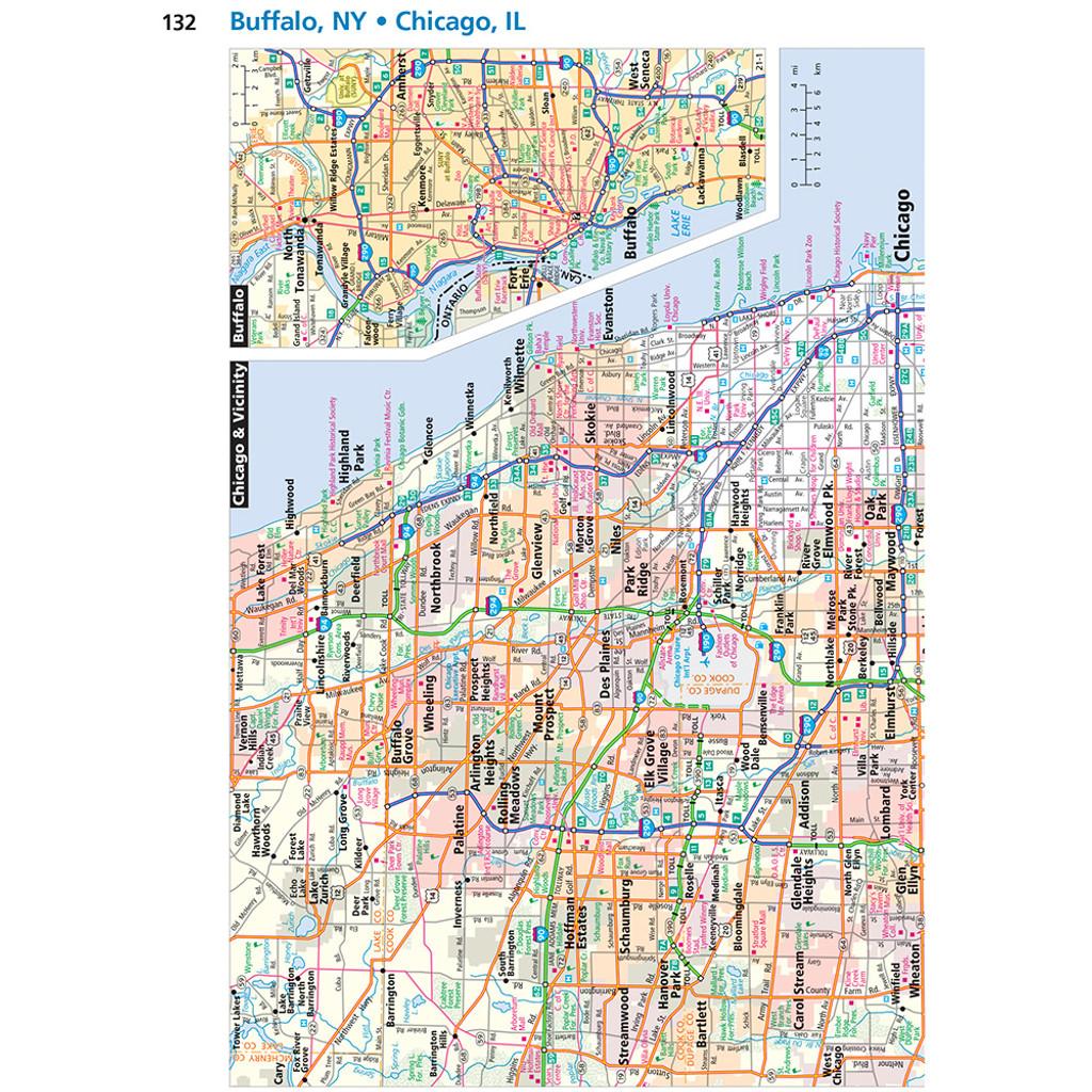 2022 EasyFinder Midsize Road Atlas