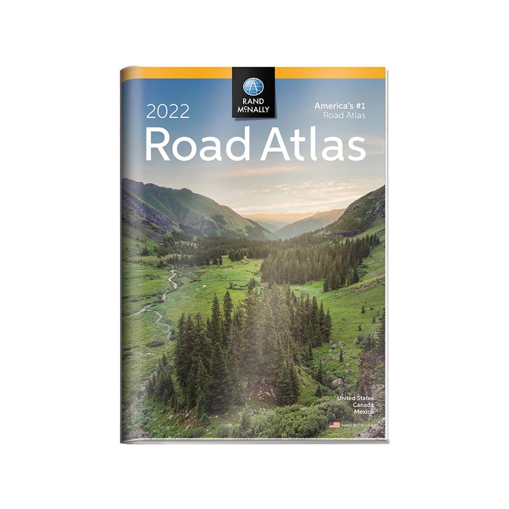 2022 Road Atlas w/ Protective Vinyl Cover