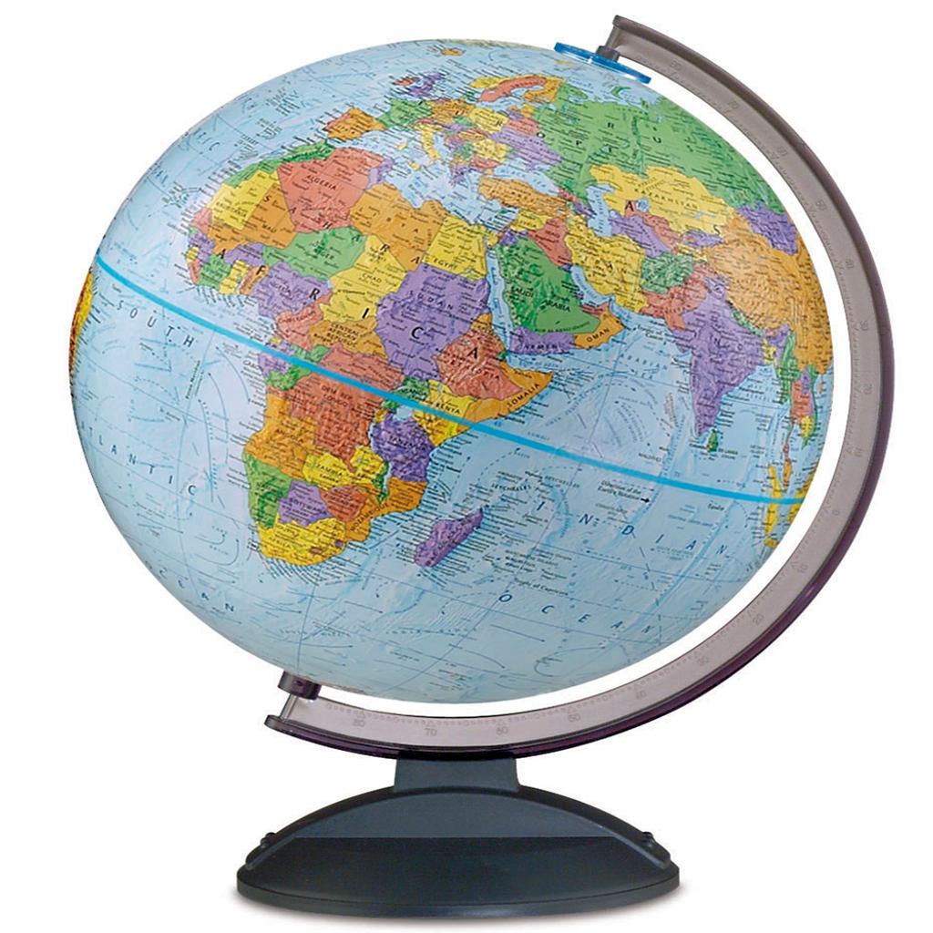 """Traveler 12"""" Desk Globe"""