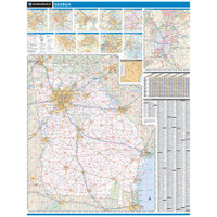 ProSeries Wall Map: Georgia State