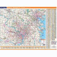 ProSeries Wall Map: Baltimore-Washington D.C. Regional