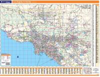 ProSeries Wall Map: Los Angeles Regional
