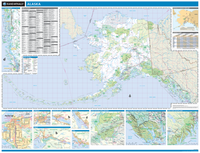 ProSeries Wall Map: Alaska State