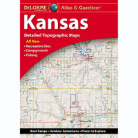 DeLorme Atlas & Gazetteer: Kansas