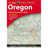 DeLorme Atlas & Gazetteer: Oregon
