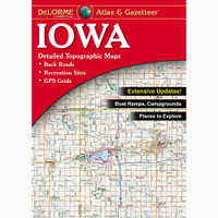 DeLorme Atlas & Gazetteer: Iowa