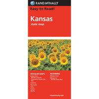 Easy To Read: Kansas State Map