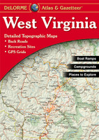 DeLorme Atlas & Gazetteer: West Virginia