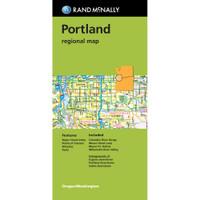 Folded Map: Portland Regional Map