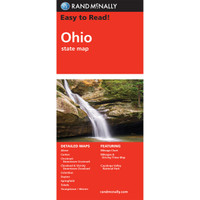 Easy To Read: Ohio State Map