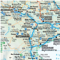 Borch Map: Thailand