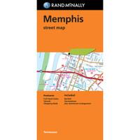 Folded Map: Memphis Street Map