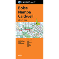 Folded Map: Boise, Nampa and Caldwell Street Map