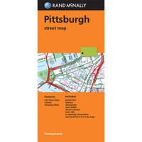 Folded Map: Pittsburgh Street Map
