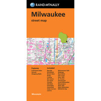 Folded Map: Milwaukee Street Map
