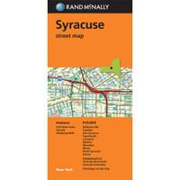Folded Map: Syracuse Street Map
