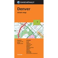 Folded Map: Denver Street Map