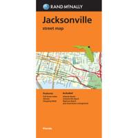Folded Map: Jacksonville Street Map