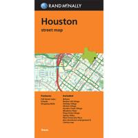Folded Map: Houston Street Map