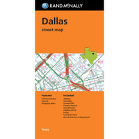 Folded Map: Dallas Street Map