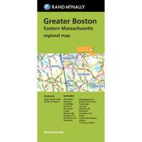Folded Map: Greater Boston Eastern Massachusetts Regional Map