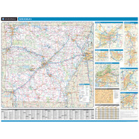 ProSeries Wall Map: Arkansas State