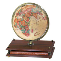 Premier 12 inch Globe with Rand McNally Premier World Atlas