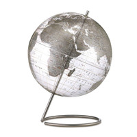 "Crystal Marquise 12"" Desk Globe"
