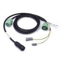 Freightliner Type 2 Green 9-Pin Y-Cable for TND 765