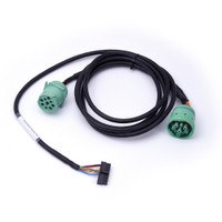 International Type 2 Green 9-Pin Y-Cable for HD 100