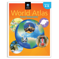 Know Geography™ World Atlas | Grades 4-9