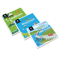 Map It! Jr. Geography Primer Series | Set of 3
