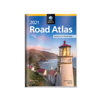 2021 Road Atlas w/ Protective Vinyl Cover