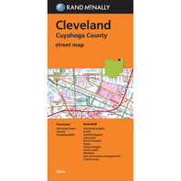 Folded Map: Cleveland/Cuyahoga County Street Map