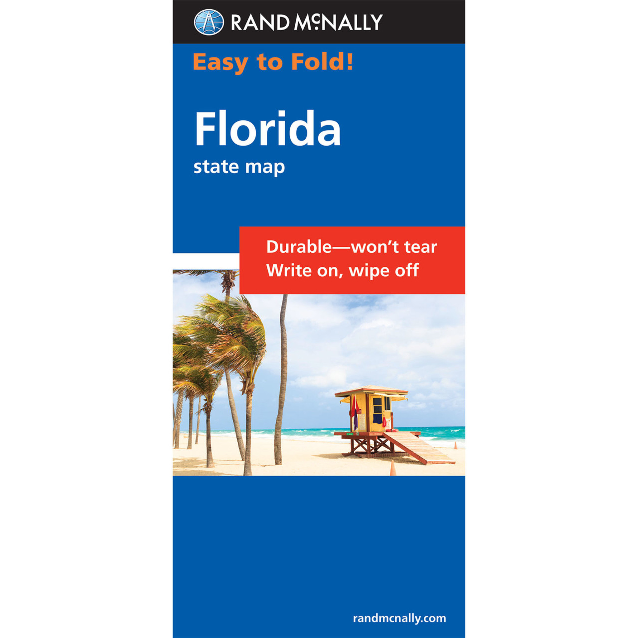 Rand McNally EasyToFold Map: Florida