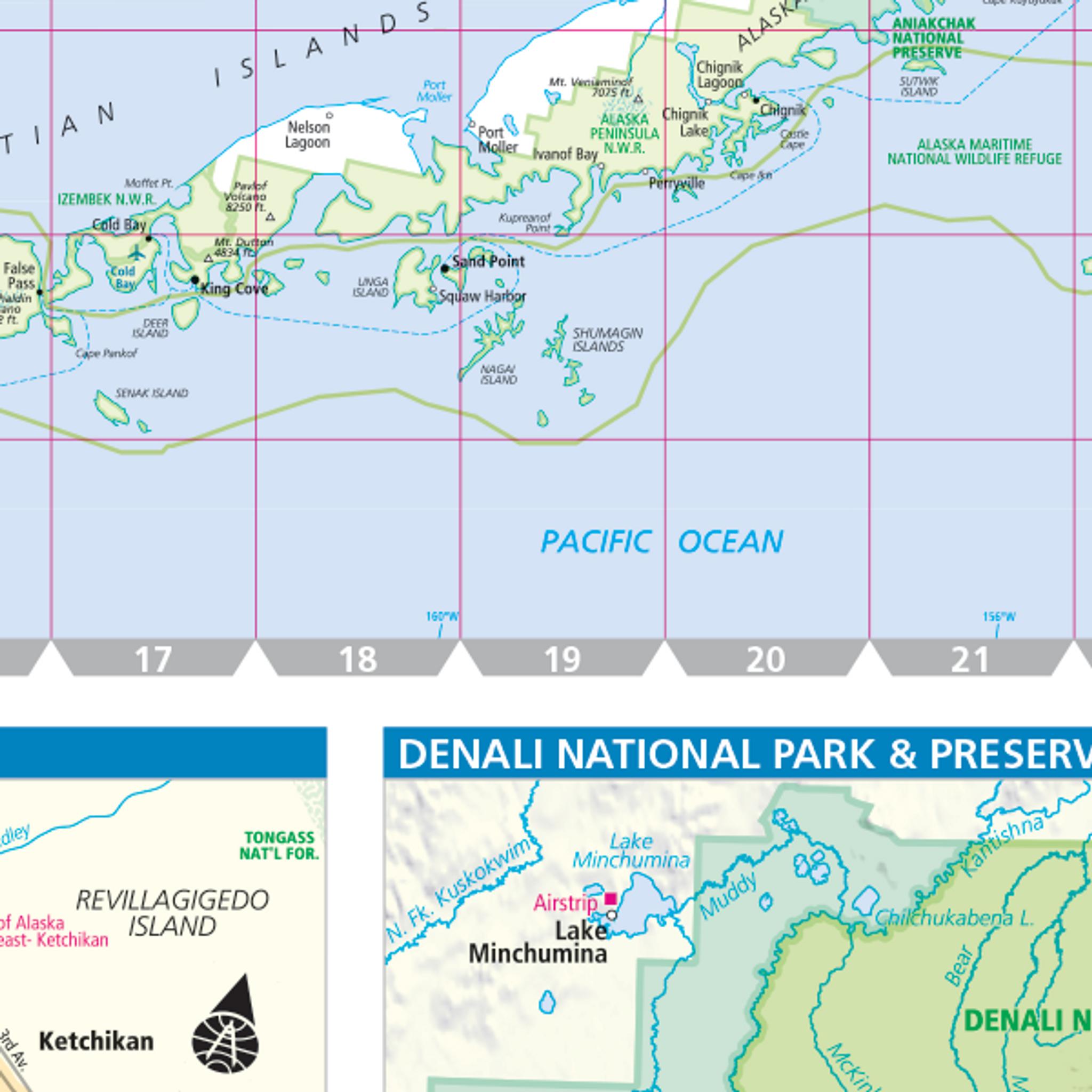 ProSeries Wall Map: Alaska State on aleutian islands map, inside passage map, alabama map, russia map, california map, colorado map, minnesota map, kodiak island map, wyoming map, hawaiian islands map, nova scotia map, north carolina map, arkansas map, connecticut map, yukon map, indiana map, texas map, arizona map, new york map, illinois map, anchorage map, new mexico map, hawaii map, georgia map, north dakota map, idaho map, pacific map, delaware map, louisiana map, florida map, canada map, michigan map, iowa map, bc map,