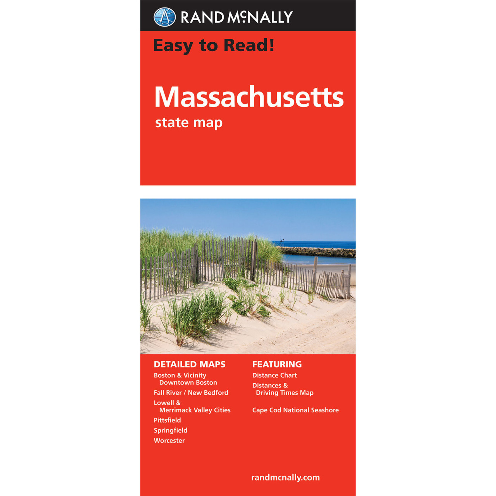 Easy To Read: Machusetts State Map Map Machusetts on