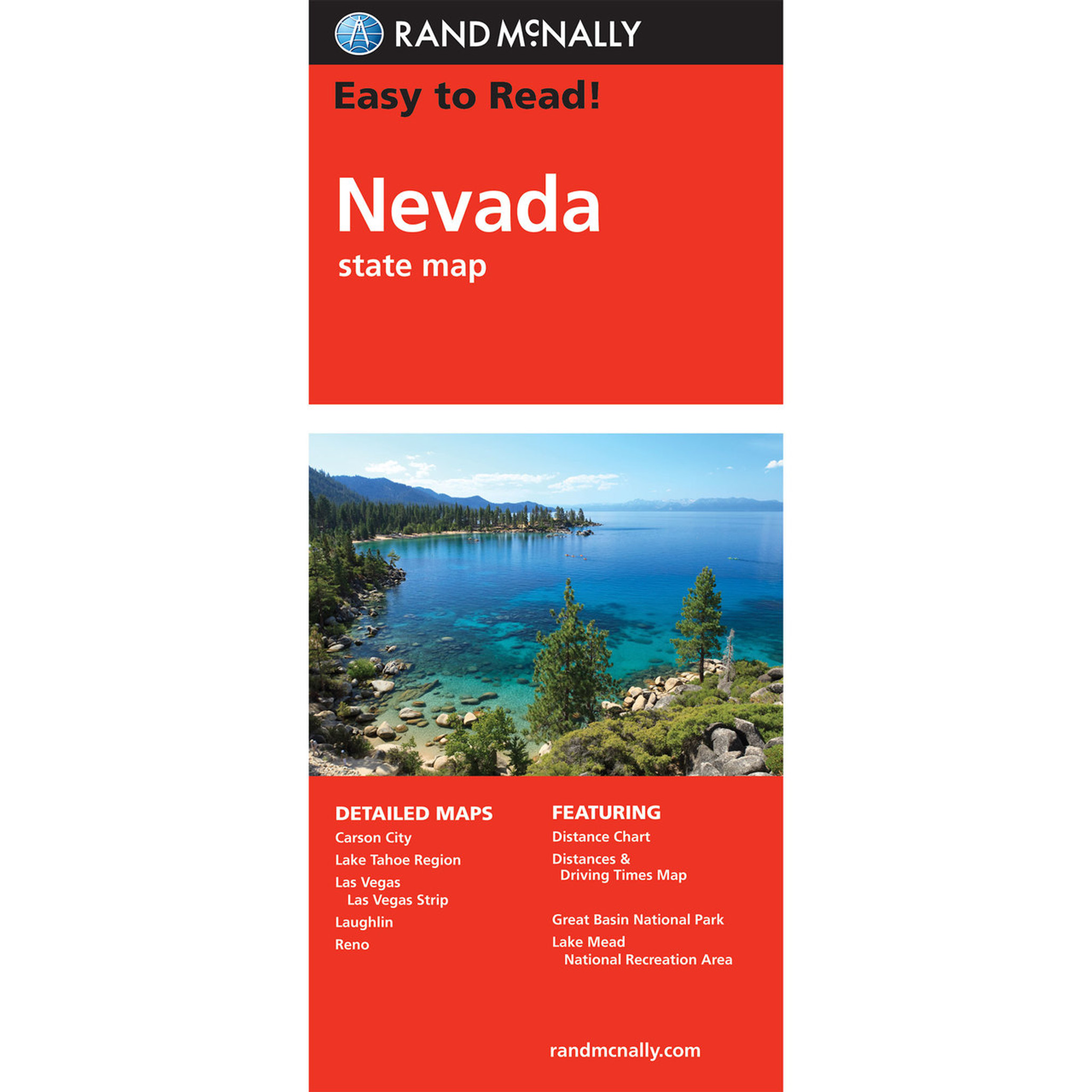 Maps Randmcnally Com Rand McNally Folded Map: Nevada Maps Randmcnally Com