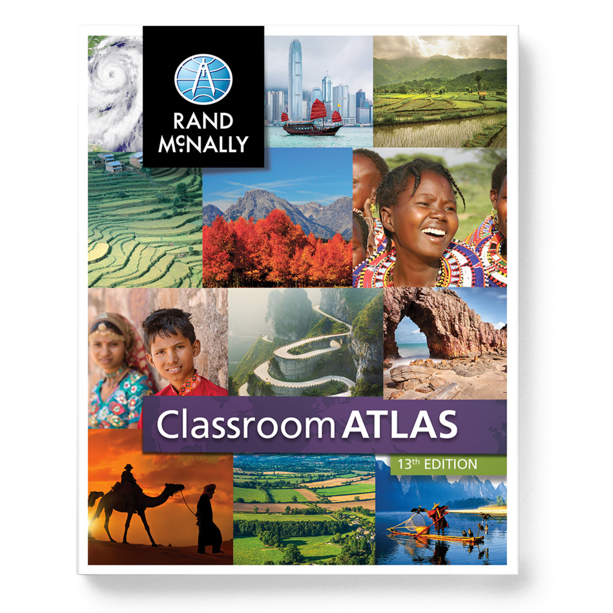 Rand Mcnally Classroom Atlas 13th Edition Canada Map Classroom Atlas | Grades 4 9   Rand McNally Store