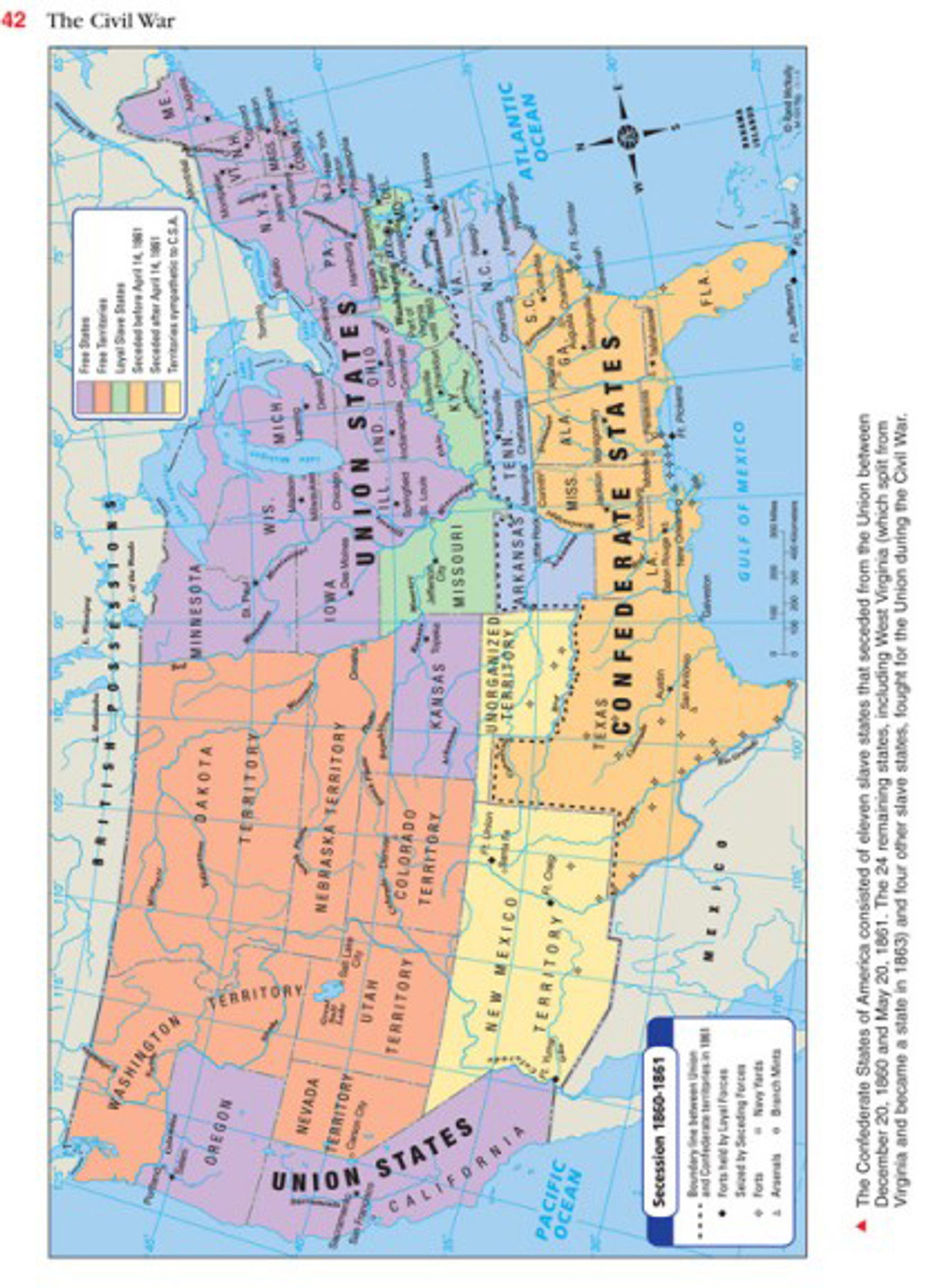 Map Of America History.Atlas Of American History Grades 5 12
