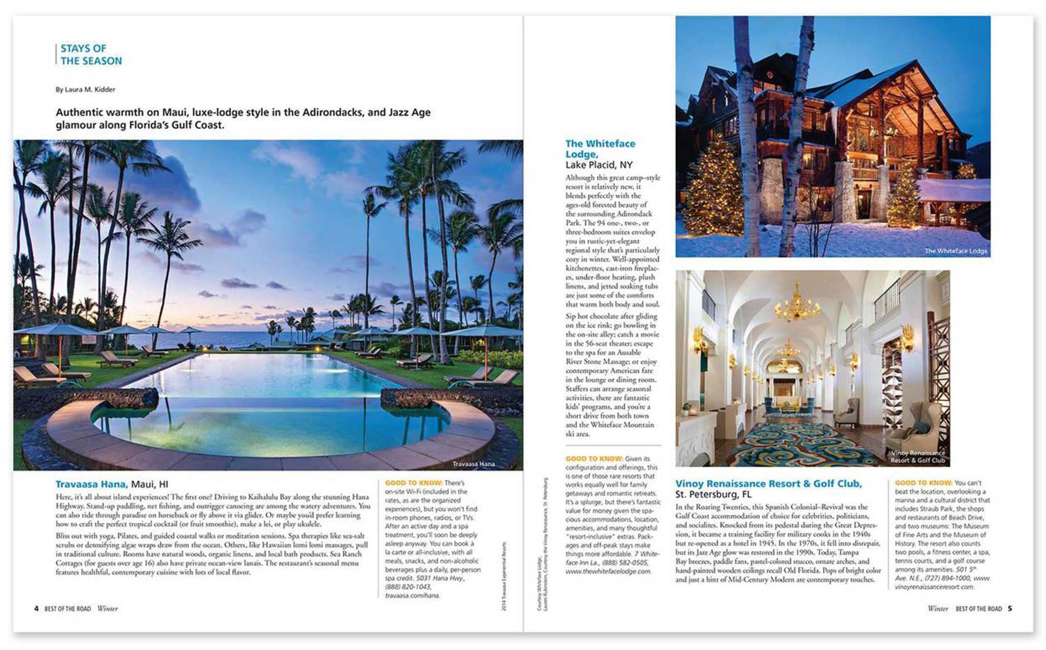 foto de Best of the Road U.S. Travel Planner & Atlas Winter Edition - Rand ...