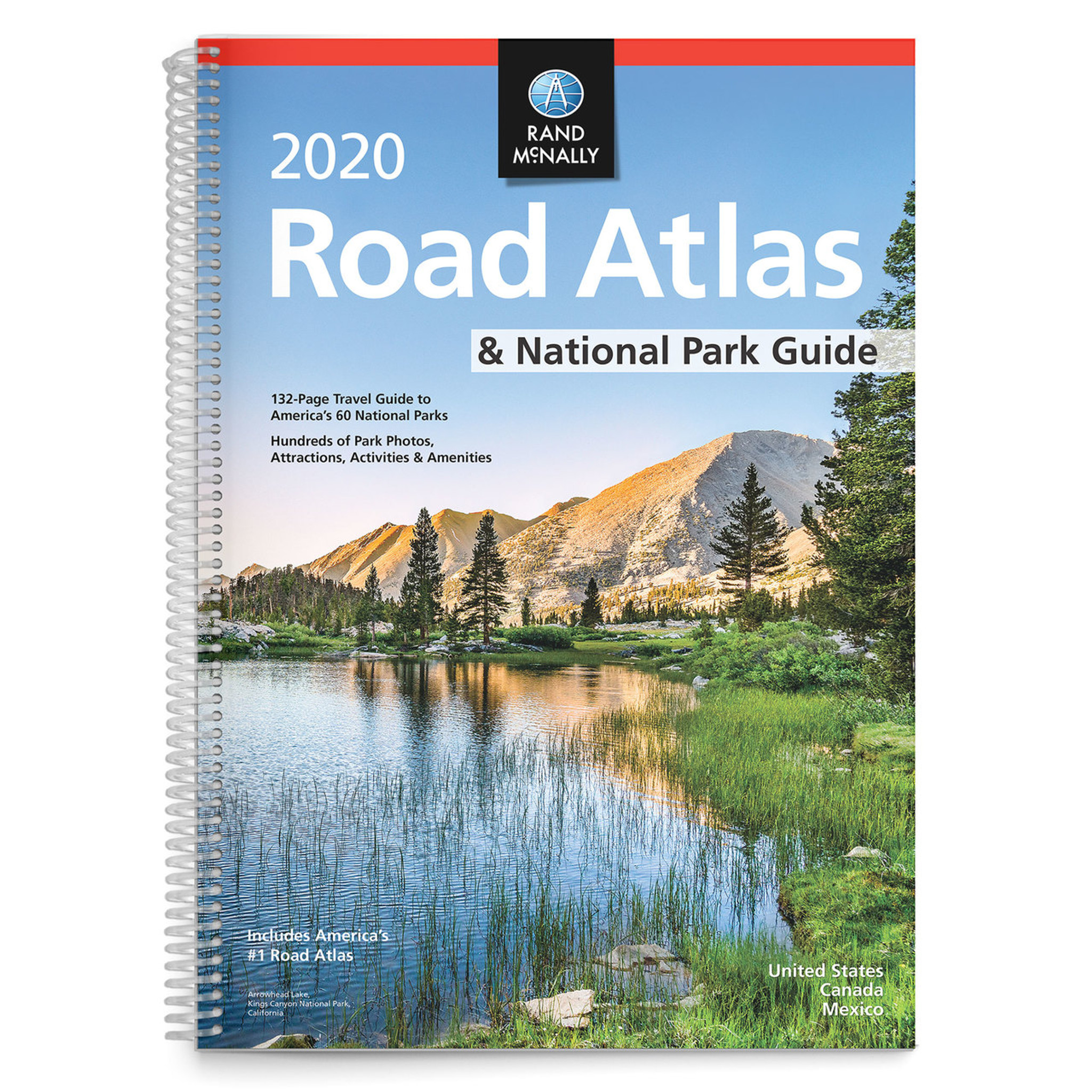 Rand McNally 2020 National Park Atlas & Guide on continents of us, region of us, geography of us, human features of us, culture of us, scale of us, longitude of us, climate of us, latitude of us, physical features of us, rural areas of us, globe of us, mountain range of us, river of us, elevation of us, symbol of us, compass rose of us,