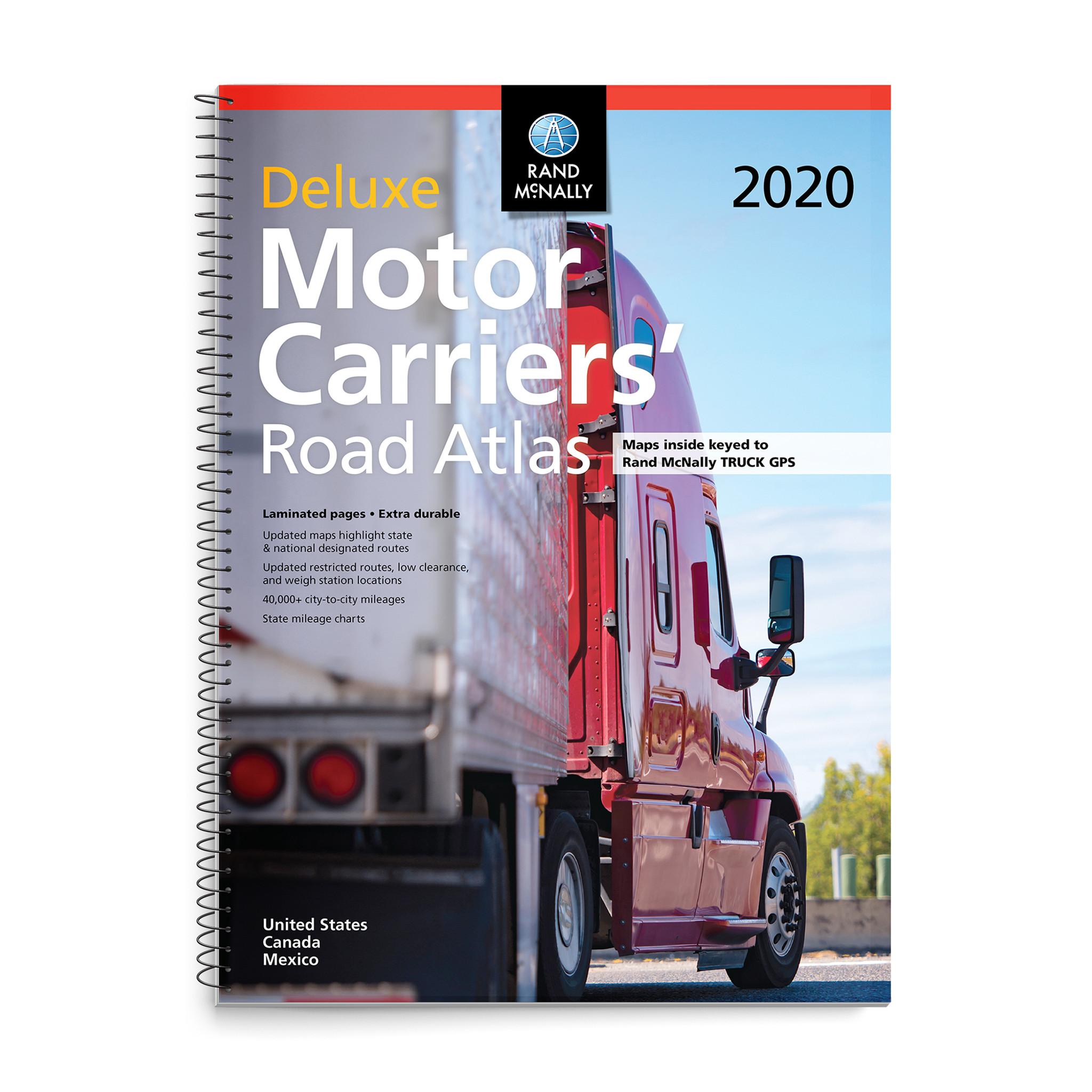 2020 Deluxe Motor Carriers' Road Atlas