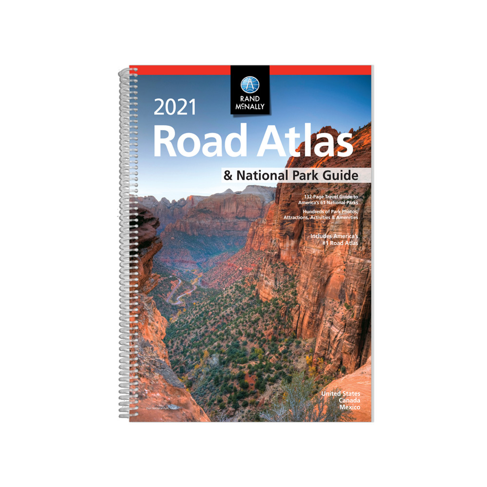 Best Road Atlas 2021 Rand McNally 2021 Road Atlas and National Parks Guide