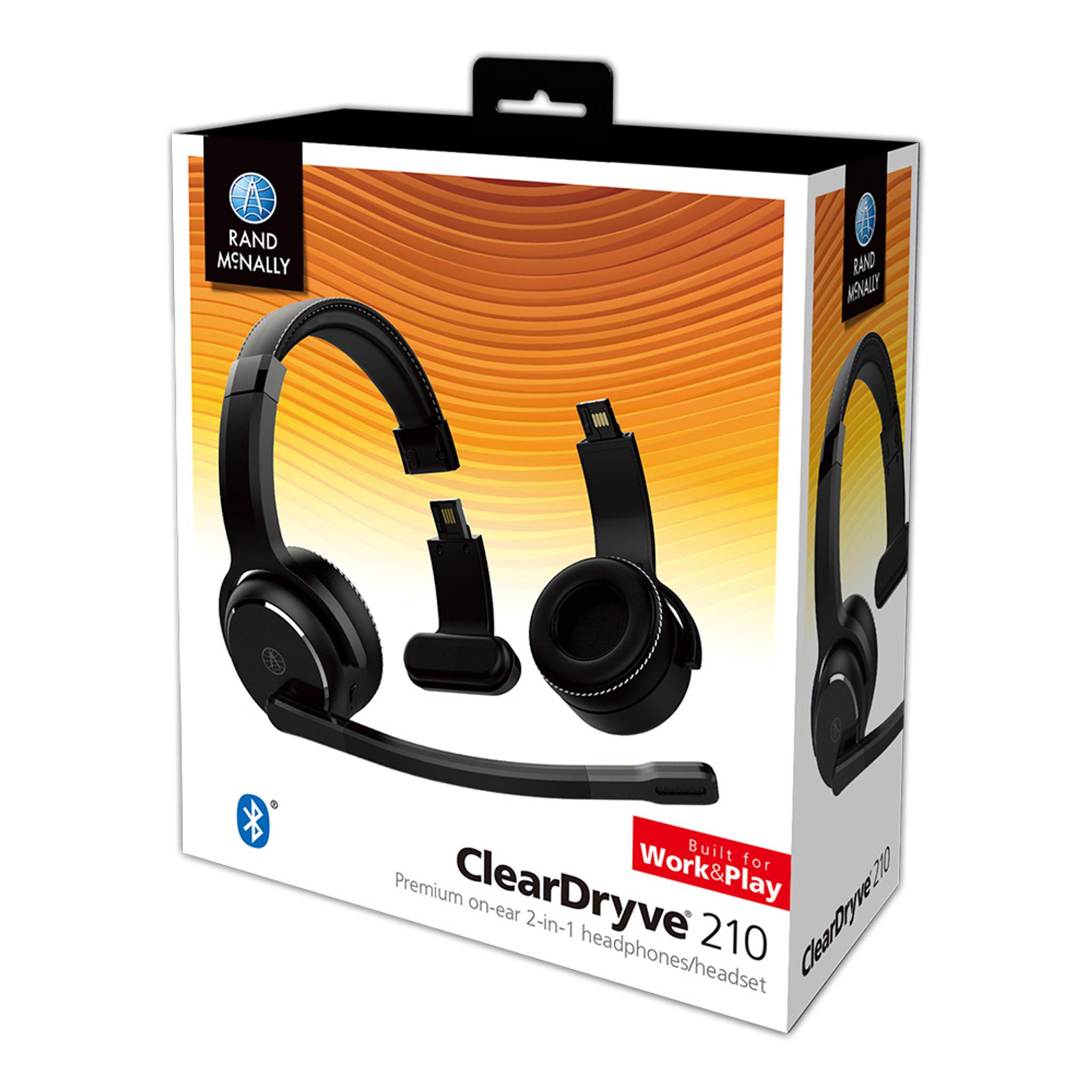 Cleardryve 210 Trucker Bluetooth Headset