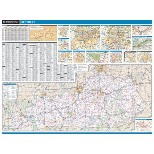 ProSeries Wall Map: Kentucky State